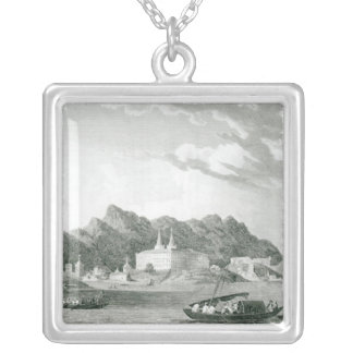 Harbour of Rio Janiero Silver Plated Necklace