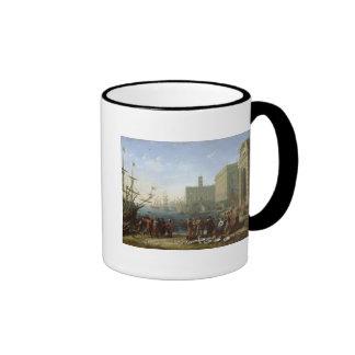 Harbour Scene Coffee Mugs