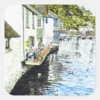 'Harbour Studio' Square Sticker