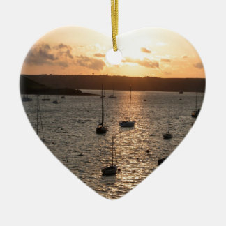 Harbour Sunrise Christmas Ornament
