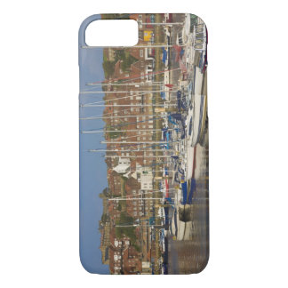 Harbour, Whitby, North Yorkshire, England iPhone 8/7 Case