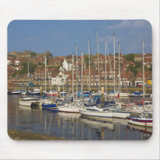 Harbour, Whitby, North Yorkshire, England Mousepads