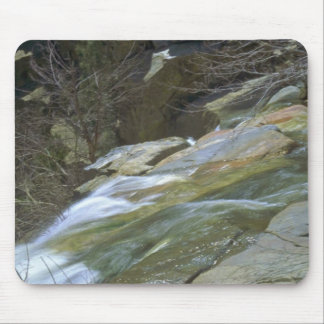 Hard And Eroded Rocks Mousepads