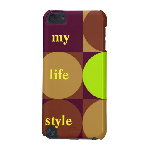 hard case i Phone touch - my life style iPod Touch 5G Cases