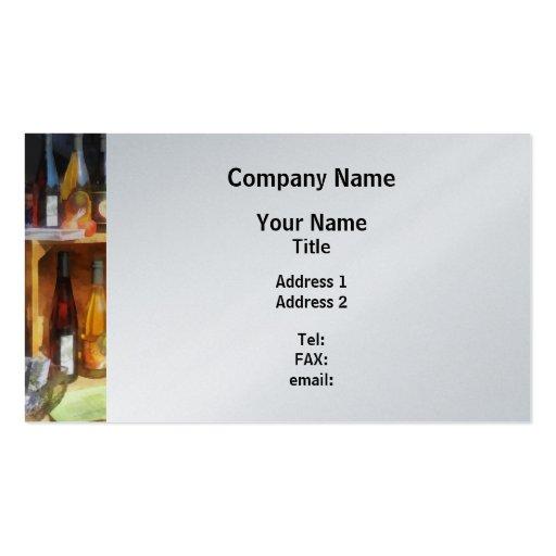 Hard Cider Business Card