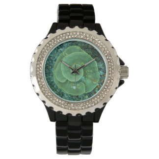 Hard Coral Swirl Wristwatch