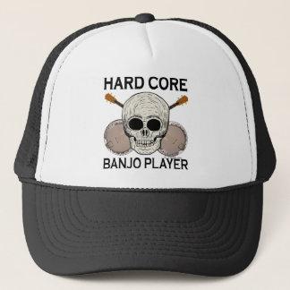 Hard Core Banjo Player Trucker Hat