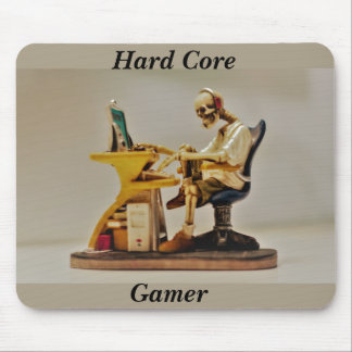 hard core gamer mouse mat