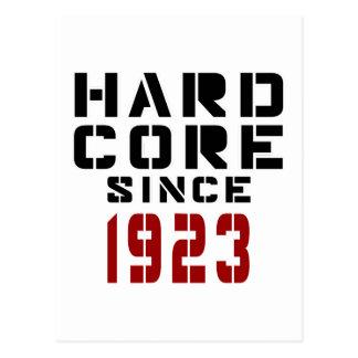 Hard Core Since 1923 Postcard