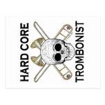 Hard Core Trombonist Post Card