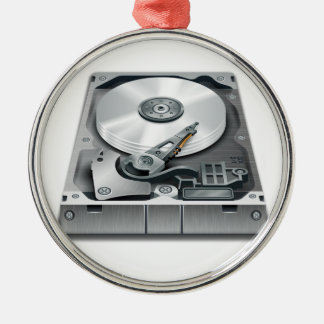 Hard Disk Christmas Ornament