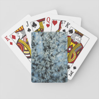 Hard Frost & Tree Nature Abstract Photographic Art Playing Cards