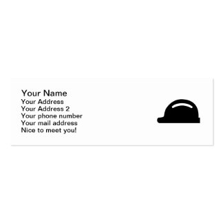 Hard hat pack of skinny business cards