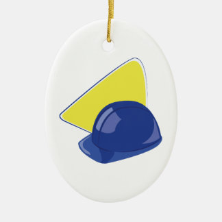 Hard Hat Christmas Ornament
