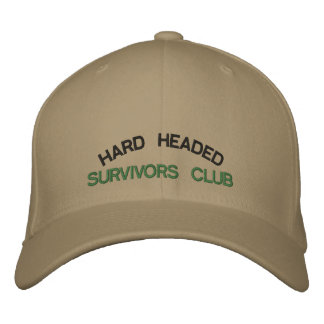 HARD HEADED SURVIVORS CLUB - Baseball Cap