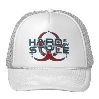 Hard Is My Style 3D hardstyle music Hats