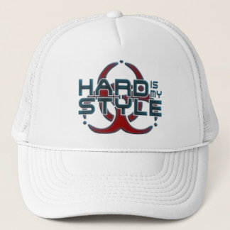 Hard Is My Style 3D | hardstyle music Trucker Hat