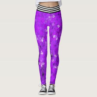 Hard Purple Leggings