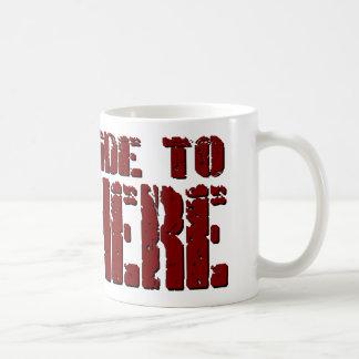 Hard Ride To Nowhere Coffee Mug