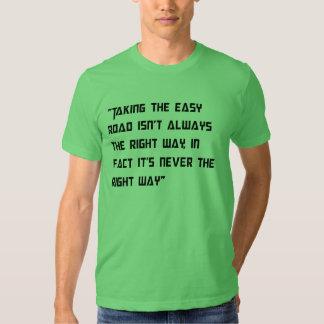 Hard Road Theme Shirt