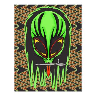Hard Rock Alien Band Member 21.5 Cm X 28 Cm Flyer