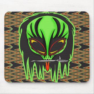 Hard Rock Alien Band Member Mousepads