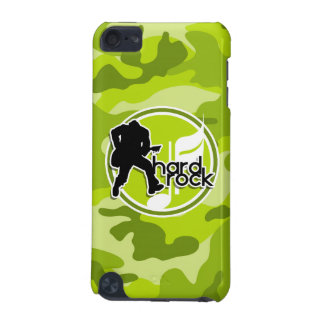 Hard Rock bright green camo camouflage iPod Touch 5G Cover