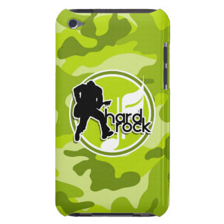 Hard Rock bright green camo camouflage iPod Case-Mate Case