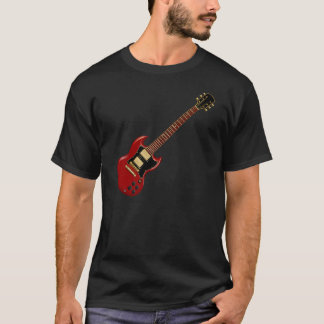 Hard Rock Electric Guitars (red) T-Shirt