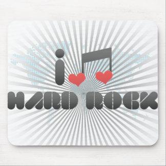 Hard Rock fan Mousepads