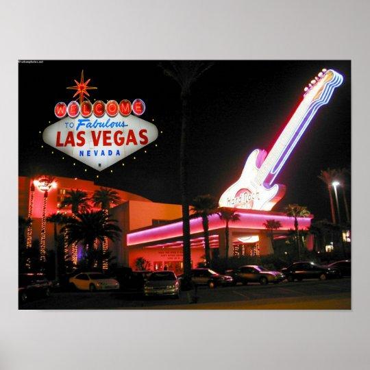 Hard Rock Hotel Las Vegas Poster