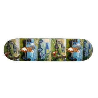 Hard-Rock Maple ,Land Rover's Skateboard Deck.