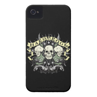 Hard Rock Skulls Guitars Music iPhone 4 4s Case