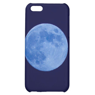 Hard Shell Case for iPhone 4 4S Blue Moon