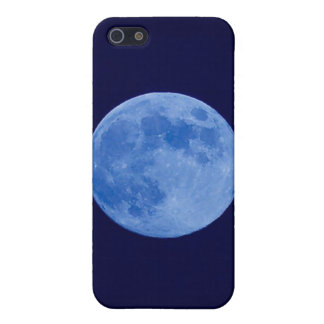 Hard Shell Case for iPhone 4/4S, Blue Moon