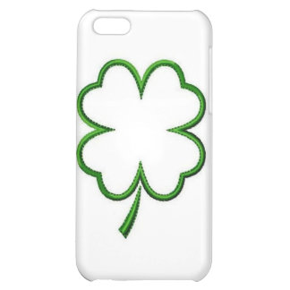 Hard Shell Case for iPhone 4/4S, Four Clover Leaf