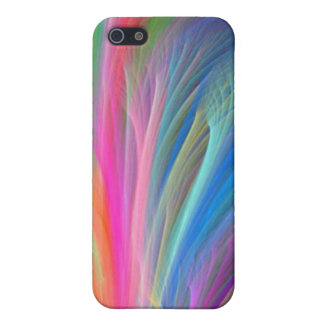 Hard Shell Case for iPhone 4 - Rainbow Smoke
