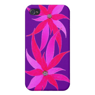 Hard Shell CaseART for iphone 4 4S by GABYforJULIE iPhone 4 Cover