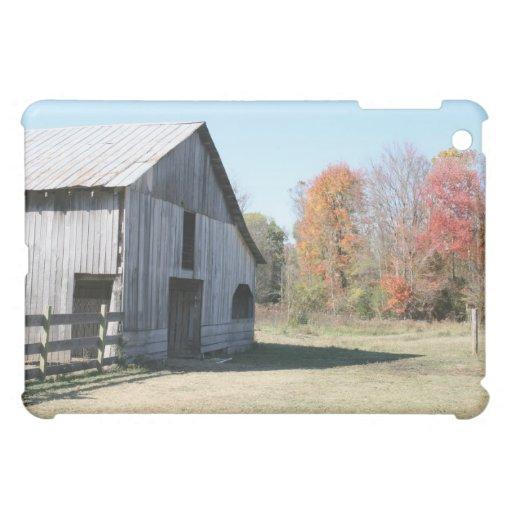 Hard shell iPad case of the Farm