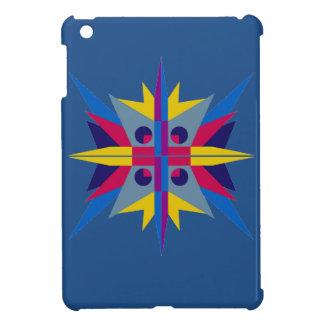Hard Shell iPad Mini Case with Art Deco Star