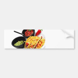 Hard Shell Taco's Bumper Sticker