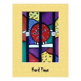 HaRd TiMe Colorful Postcard