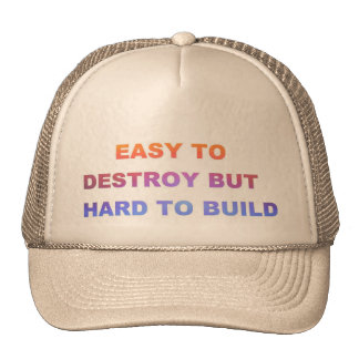 Hard to Build Hats