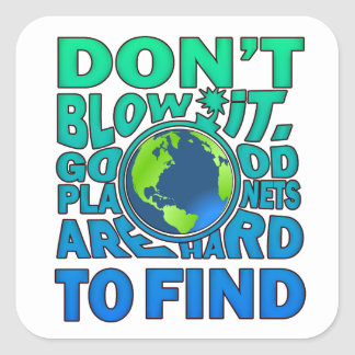Hard To Find Earth Day Stickers