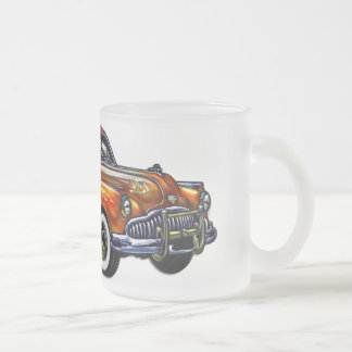 Hard Top Two Door Classic Car Frosted Glass Mug