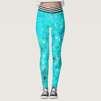 Hard Turquoise Leggings