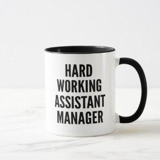 Hard Working Assistant Manager Mug