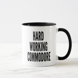 Hard Working Commodore Mug