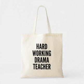 Hard Working Drama Teacher