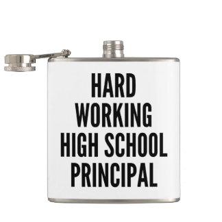 Hard Working High School Principal Flask
